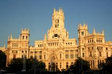 The City Council building in Madrid