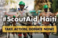 Support the Scouts of Haiti