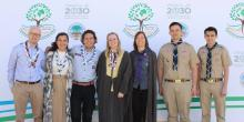 Young BP Fellows at the International Conference on Scouting and the Environment